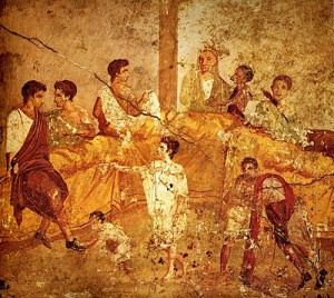 400px-Pompeii_family_feast_painting_Naples