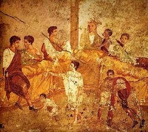 400px-Pompeii_family_feast_painting_Naples